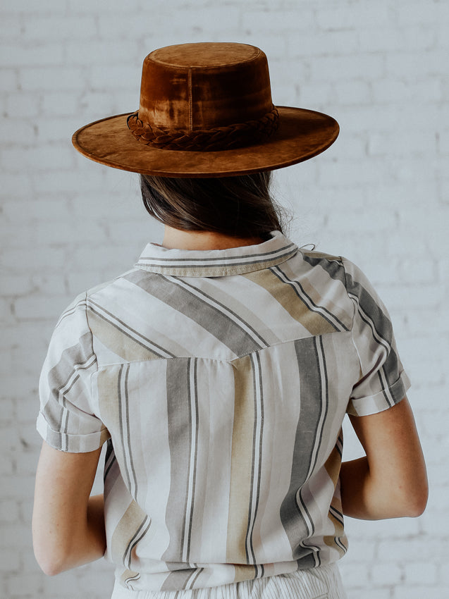 Billy Hat (Brown)