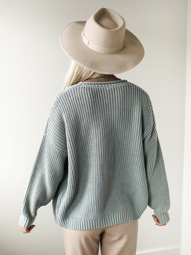 Sparks Fly Cardigan (Blue)
