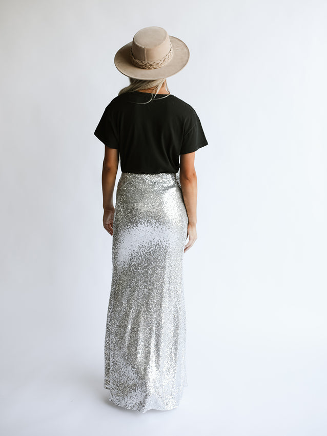 Gala Sequin Skirt