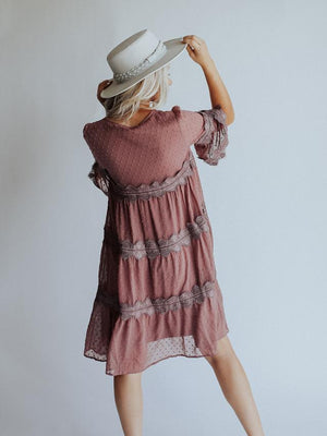 Going Somewhere Dress (Mauve)