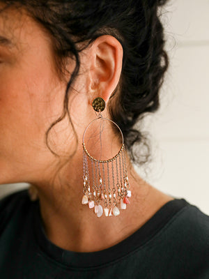 Make It Count Earrings (Pink)