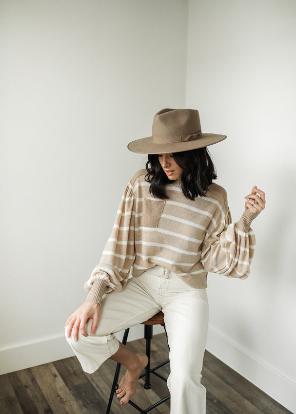 FREE PEOPLE Between The Lines Pullover