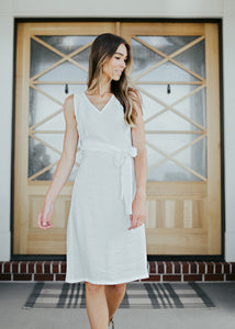 Shebang Dress (White)