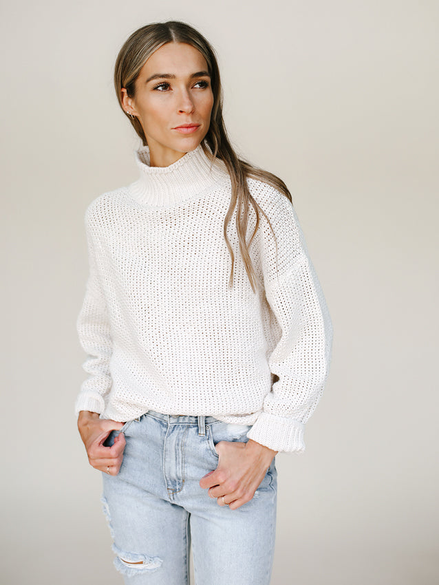 Milo Sweater (Cream)