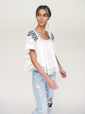 Prairie Days Tee FREE PEOPLE