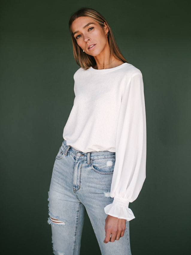 Leave It Or Layer It Blouse