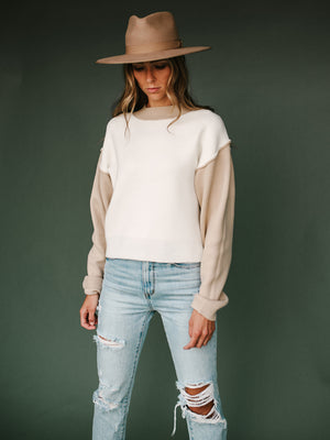 Tatum Sweater  (Cream)