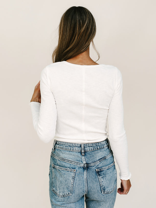 Got Your Back Top (Ivory)