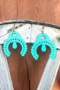 Squash Blossom Earrings- Crazy Train