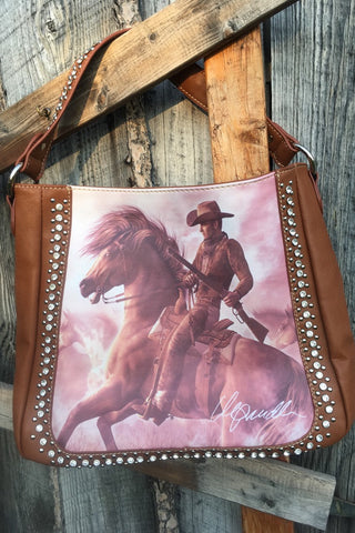 Concealed Carry Vintage Cowboy Handbag-Only 1 Left! - The Diamond Spur Boutique