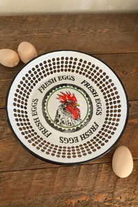 Fresh Eggs Serving Tray - The Diamond Spur Boutique