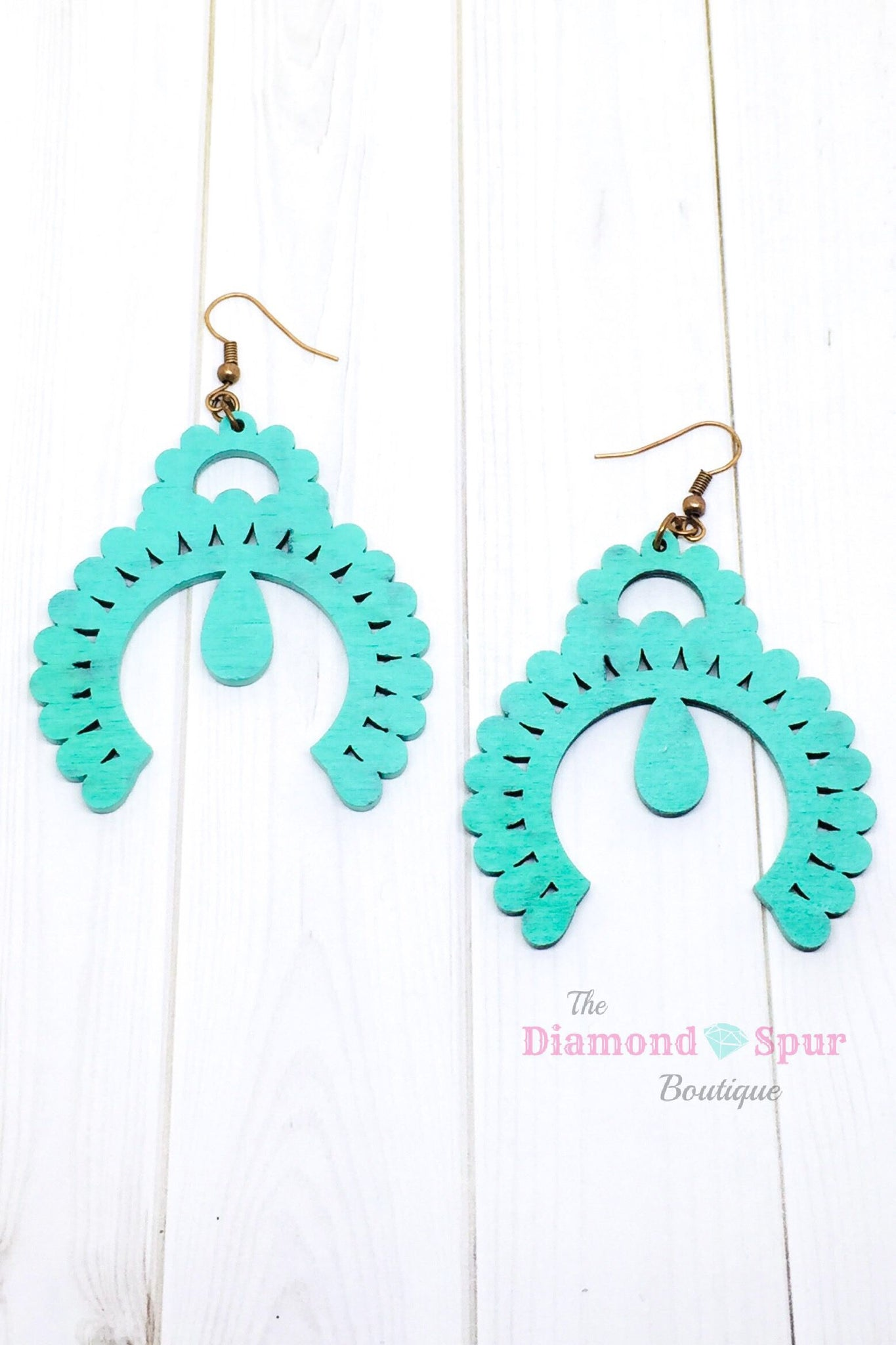 Squash Blossom Earrings- Crazy Train - The Diamond Spur Boutique