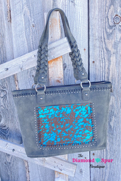 Hair On Concealed Carry Handbag - The Diamond Spur Boutique
