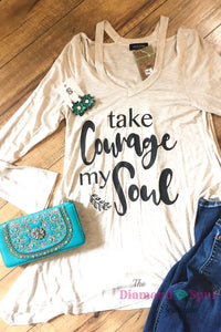 Take Courage Tunic - The Diamond Spur Boutique