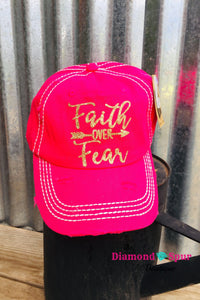 Faith Over Fear - The Diamond Spur Boutique