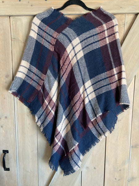 Cheeky's Blanket Scarf Poncho - The Diamond Spur Boutique
