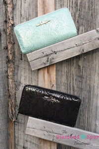 Glitz and Shimmer Wallet - The Diamond Spur Boutique