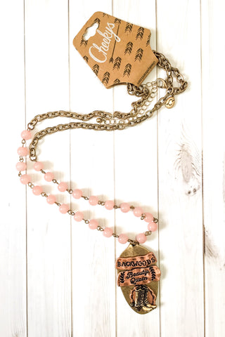 Cheeky's Backwoods Beauty Queen Necklace