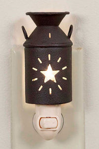 Star Milk Can Night Light - The Diamond Spur Boutique
