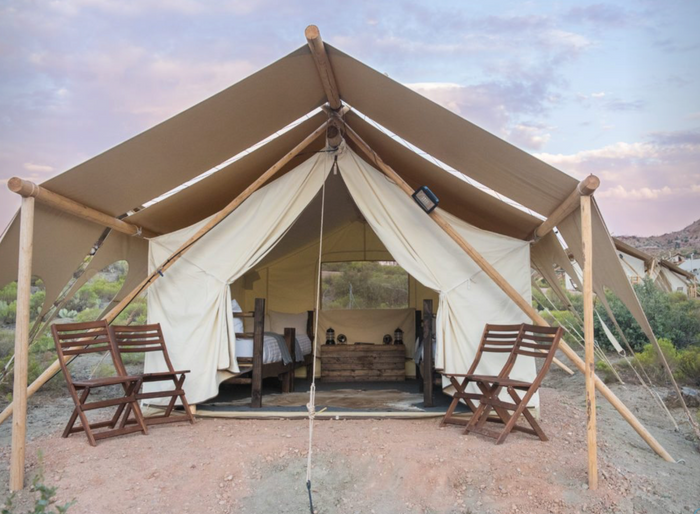 Zion Safari Tent Quad