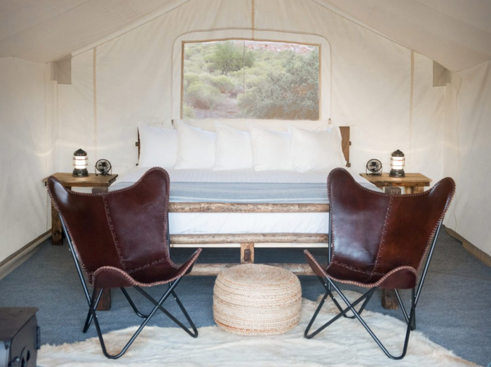 Zion Safari Tent - Shared King Bed