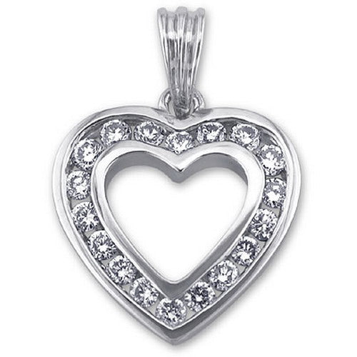 Heart with Diamond DO.40CT
