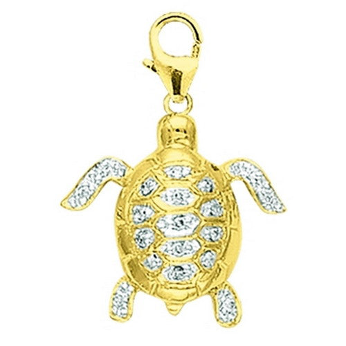 Diamond sea turtle D0.08CT