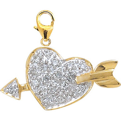 Cupid Heart D0.10CT
