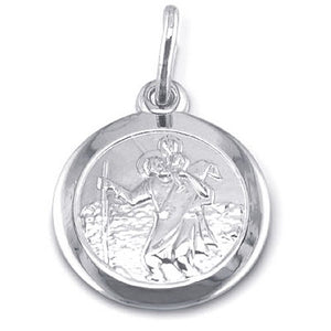 St. Christopher (Rhodium)