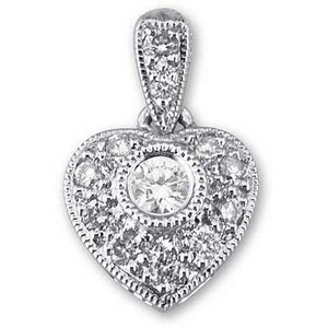 Heart with Diamonds