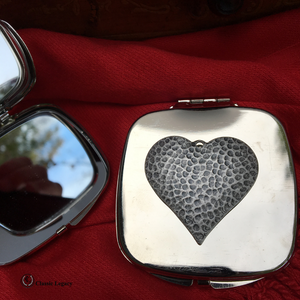 Heart Purse Mirror