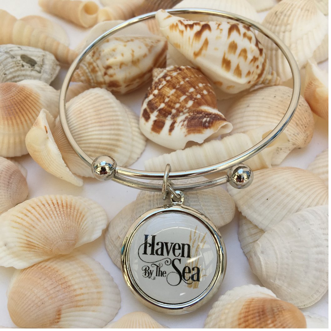 Bracelet Expandable Hoop Custom Personalized with Art, Logo, or Photo