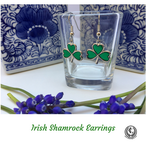 Earrings-Irish Shamrock