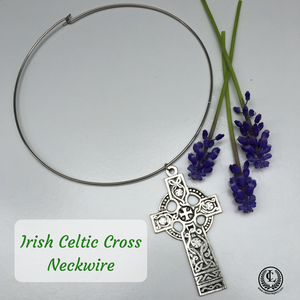 Neck-wire  Irish Celtic Cross