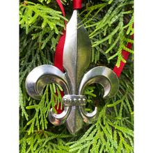 Load image into Gallery viewer, Christmas Ornament,  Extra Large Fleur de Lis