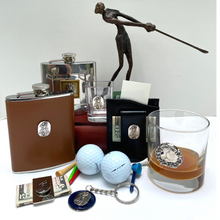 Load image into Gallery viewer, Key Ring, Golf Theme