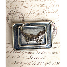Load image into Gallery viewer, Gator Lapel Pin Brooch