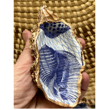 Signature Oyster Shell Ring Dish, Chinoiserie Blue and White Hostess Gift