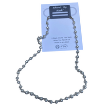 Load image into Gallery viewer, Faux Pearl Necklace Chain, Pearl Mask Chain