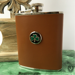 Flask Leather Irish