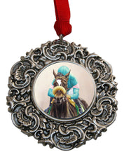 Load image into Gallery viewer, Christmas Ornament Zenyatta Race Horse