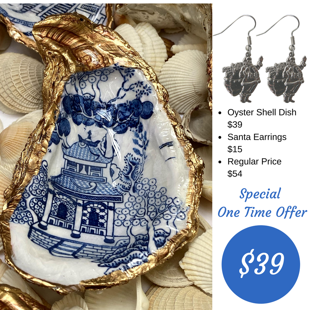 Oyster Shell Jewelry Dish Christmas Special Offer