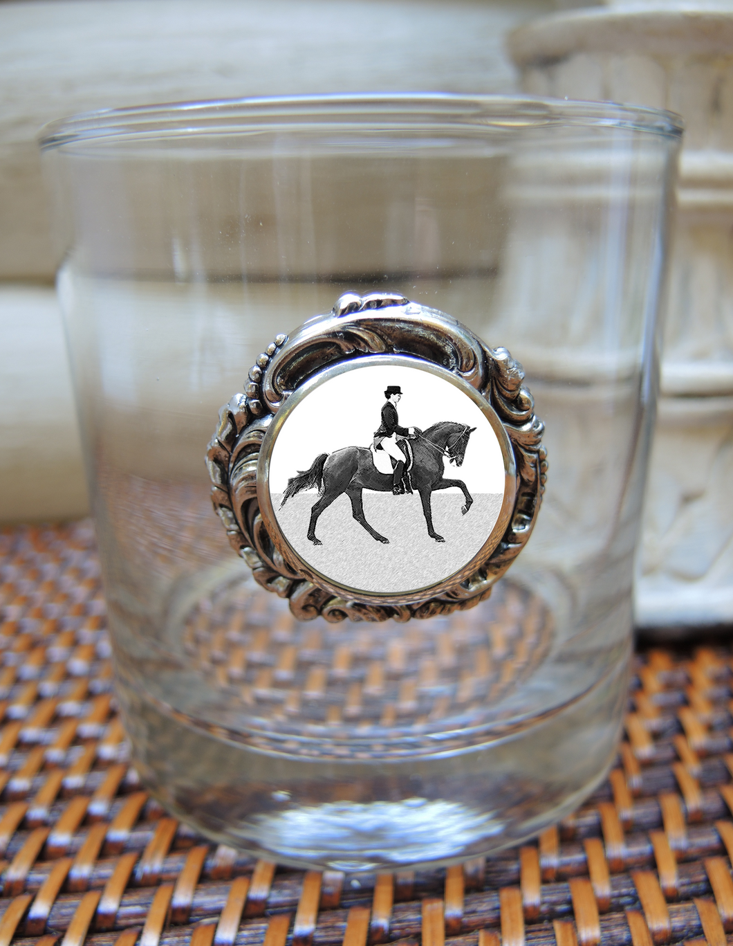 Double Old Fashion Glass Dressage