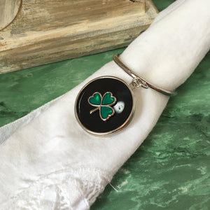 Irish Napkin Rings Set of 4