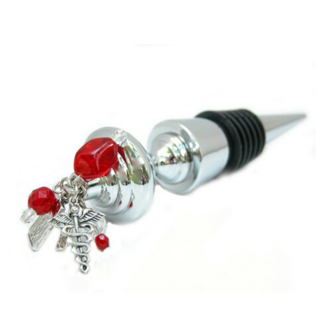 Medical theme bottle stopper