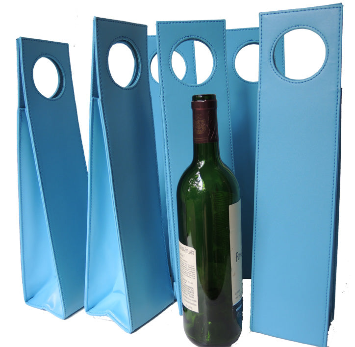 Beverage Carriers Set of 6 Turquoise