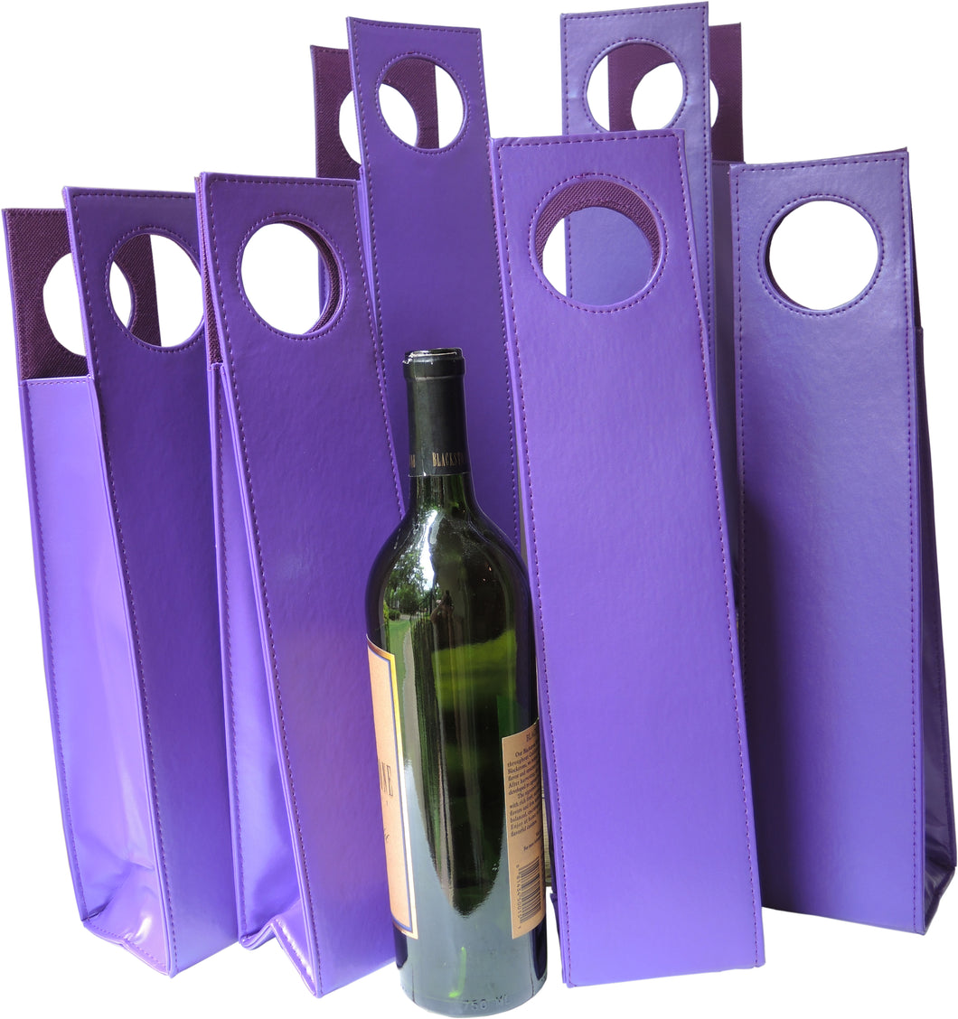 Wine Carrier Set of 6 Purple