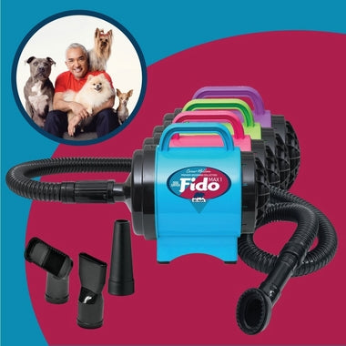 Cesar Millan Dog Dryer - Fido Max 1 with 4 Nozzles