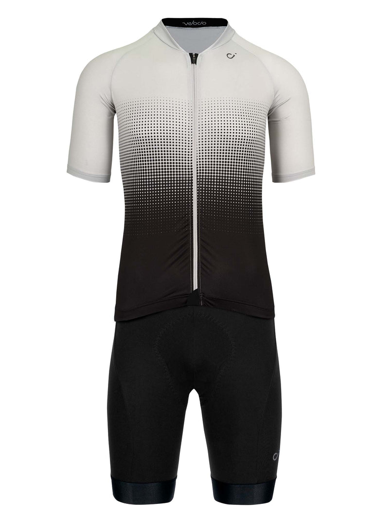 velocio mens halftone light grey kit