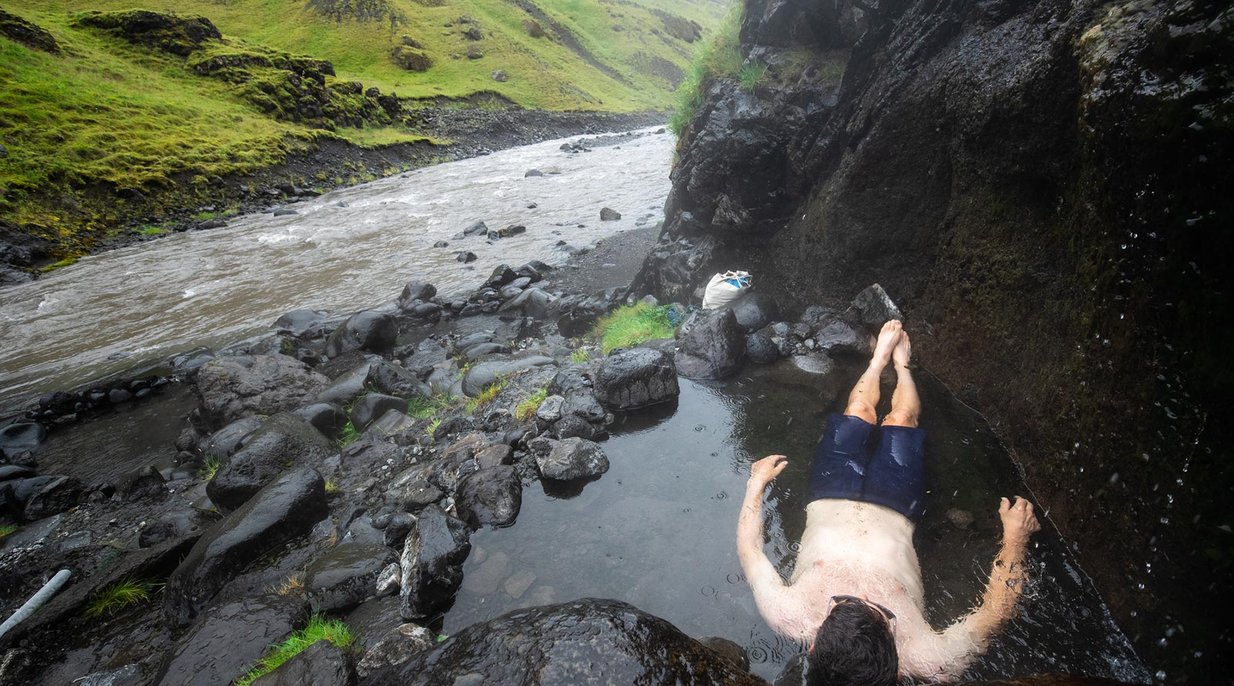 velocio ted king swimming in iceland